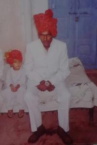 Th. Saheb Bheron Singh Ji & Yuvraj GajRaj Singh