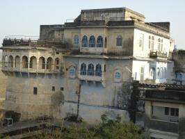 Back side of Fort Kharwa