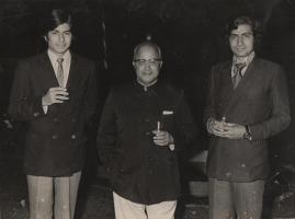 Kunwar Ajay Singh ji of Kila Amargarh, Thakur Narayan Singh ji Kila Amargarh & Maharajkumar Rajyawardhan Singh ji Narsinghgarh