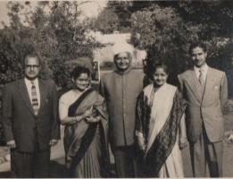 Th. Narayan Singh ji, Late Krishna Kumari ji, Late Th. Ram Singh Ji, Late Rajkumari ji & Th. KRP Singh ji (retd. IFS) of Kila Amargarh