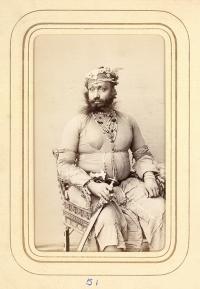 Portrait of Maharaja Prithvi Singh