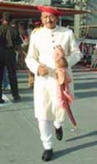 HH Maharaja Chhatrapati SHAHU II BHONSLE