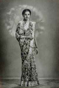Thakorani Vijayalakshmi Devi Sahiba of Kotda Sangani, née Yuvarajkumari Vijayalakshmi Devi Ammani Avaru of Mysore