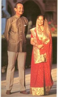 Maharaja Pragmalji III & Pritidevi of Kutch State