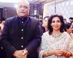 Raja Pratap Singh and Rani Reena Kumari of Labhowa
