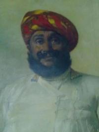 Maha Rana Karansinhji Jhala of LAKHTAR