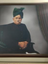 H.H.T.S. Daulatsinhji Jashwantsinhji Jhal of Limbdi, who adopted by H.H.T.S. Jashwantsinhji