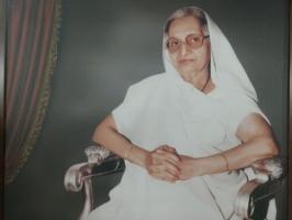 Rajmata Saheb Shree Pravinkunwarbaa of Limbdi
