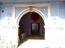 Entrance of Darbargadh of Limda