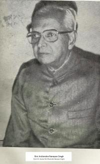 Kumar Anilendra Narayan Singh, son of H.H. Kumar Phanindra Narayan Singh