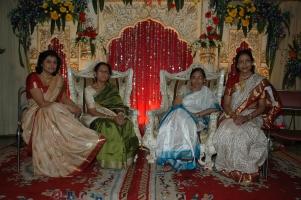 L-R: Smt. Neera Singh, Smt. Krishnaa Singh, Smt. Chhanda Sinha, Smt. Alokananda Singha