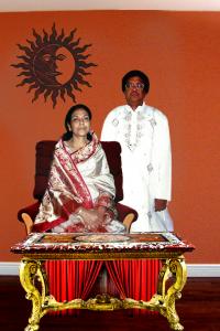 Smt. Alokananda Singha with Shri Asit Kumar Singha