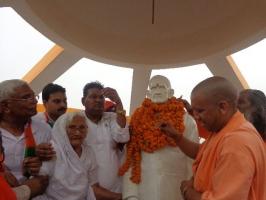 Inauguration of Statue of Late Babu Shri Swaminath Singh by Honerable Chief Minister of Uttar Padesh Shri Yogi Adityanath