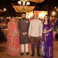 Mandwa Yuvrajsaheb and Family