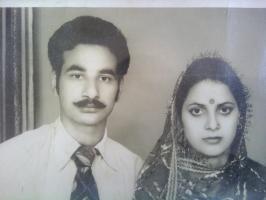 Rana Surender Singh and Rani Rama Singh