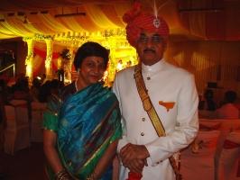 Col Raja Chhatrapati Singh Deo & Rani Rajlaxmi Singh Deo of Manjusha