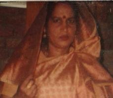 Maya Singh, wife of Raj Kumar Singh