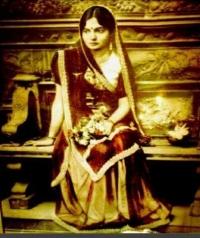 Maharani Jaswant Kumari, first wife of Maharaja Mahendra Singh