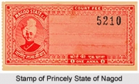 Stamp of Nagod State