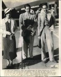 Thakur Saheb Rajendra Singhji Namli with Maharaja Yashwant Rao Holker and Maharani Sanyogita Raje Holkar in America