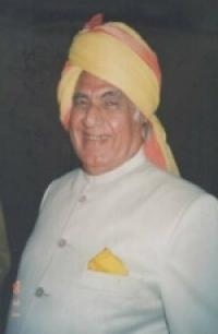HH Shri Huzur Maharaja BHANUPRAKASH SINGHJI Sahib Bahadur