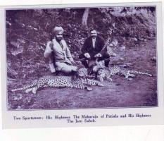 Jam sahib with King of Patiala