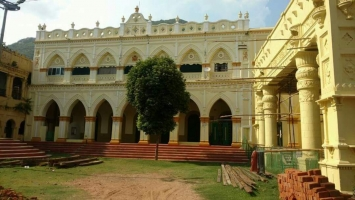 Nizgarh Palace, after restoration in 2017