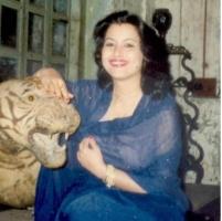 Maharajkumari Jyotsna Devi Mardaraj, wife of Maharajkumar Jagdish Chandra Mardaraj