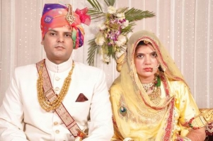 Kr Ajay Singh in his marrige