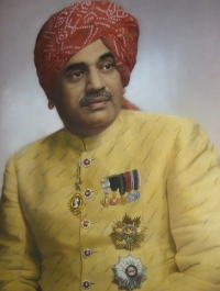 HH Maharaja Bahadursinhji Mansinhji Gohel