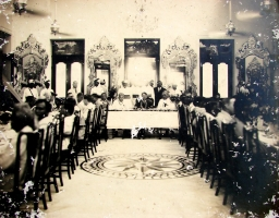 Banquet at Durbar Hall, Panchkote Palace(Mirrors and Consoles from F&C Osler, Birmingham, UK.