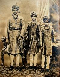 Brother Raja Kalyani Prasad Singh Deo, Rajkumar Rajkrishna Prasad Singh Deo and Rajkuamr Ajit Prasad Singh Deo
