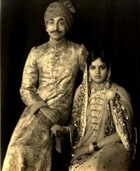 HH Maharaja Rajendra Narayan Singh Deo and HH Maharani Kailash Kumari