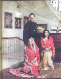 HH Maharaja KANAK VARDHAN SINGH DEO, Maharani Sangeeta Kumari Devi and Maharaj Kumari Nivritti Kumari