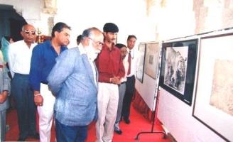 Thakur Ajay Singh Peelwa  With Shreeji Arvind Singh ji Mewar
