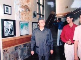 Thakur Ajay Singh Peelwa with H.H. Maharaja Karan Singh ji Kashmir