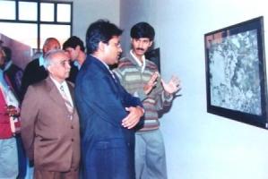 Thakur Ajay Singh Peelwa with Shri Lalit Modi,former Chairman IPL