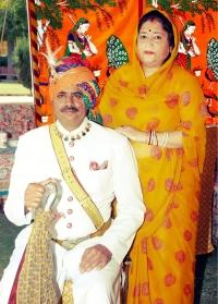 Thakur Ajit Singh Rathore and Thakurani Nirja Singh