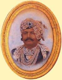 HH Maharaja Rana Saheb Shri BHAVSINHJI MADHAVSINHJI Bahadur of PORBANDAR