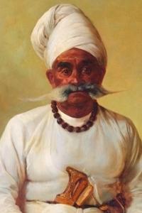 HH Maharaja Rana Saheb Shri VIKMATJI KHIMAJI of PORBANDAR