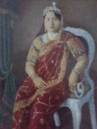Rani Dishwarimati Devi of Raigarh, Maharaja Chakradhar Singh's first queen