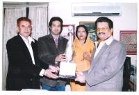 Raja and Rani Sa Rairakhol Presenting Rani Sada Rajya Lakshmi Trophy at RKC