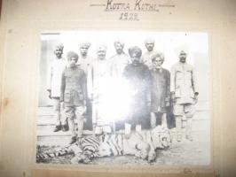 Birendra Singh during Shikar, 1928