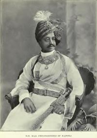 Maharana Shri Sir Chhatrasinhji Gambhirsinhji of Rajpipla.