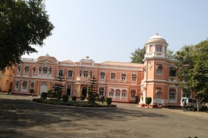 Front view of Rajvanta Place Rajpipla Gujarat