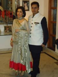 Maharaja SAURABH NARAIN SINGH Bahadur and Rani Ujwala Prabha