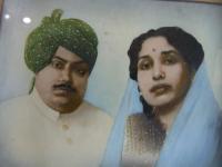 Late Raja Girindra Narayan Singh and Maharani Indra Singh (Ranka Raj)