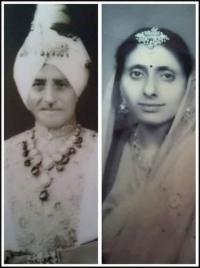 Thakur Randhir Singh and Thakurani Shushila Kumari