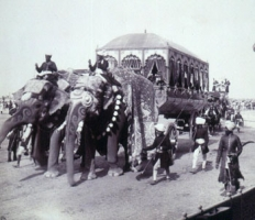 Maharaj of Rewah's Elephant Carriage