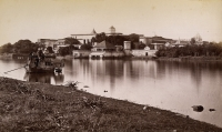 The Govindgarh palace of the Maharaja of Rewa in 1882
